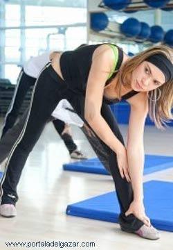 gimnasia para adelgazar ejercicios